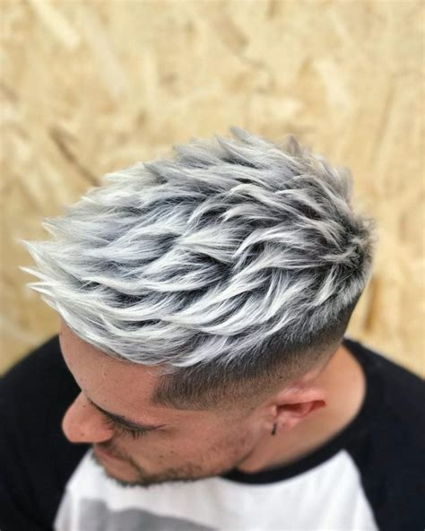 mens hair who are changing your hair color 31 best men s hair color ideas updated for 2018 silver