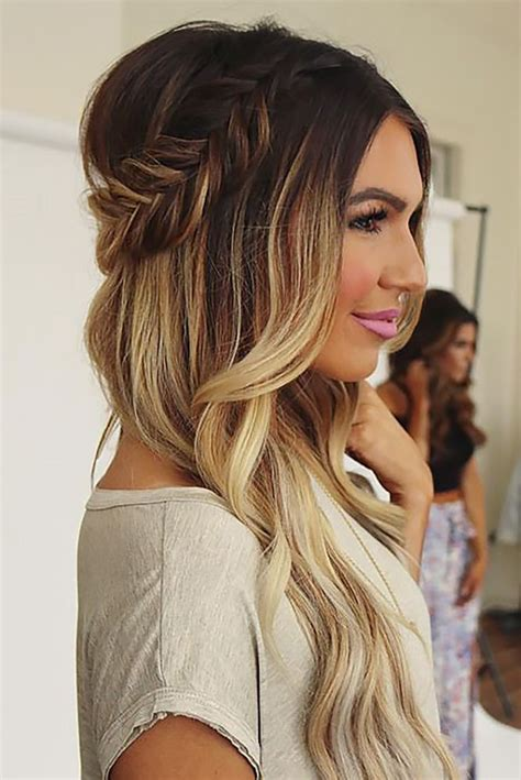 Wedding Hairstyles Ombre by 27 Modish Ombre Wedding Hairstyles Ombre Weddings And