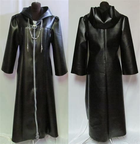 pattern for organization 13 coat kingdom hearts roxas organization xiii cosplay coat