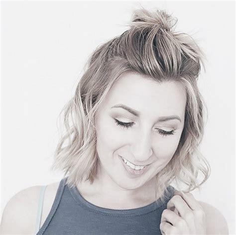 como hacer peinados para pelo corto 16 peinados perfectos para hacer deporte con el pelo corto