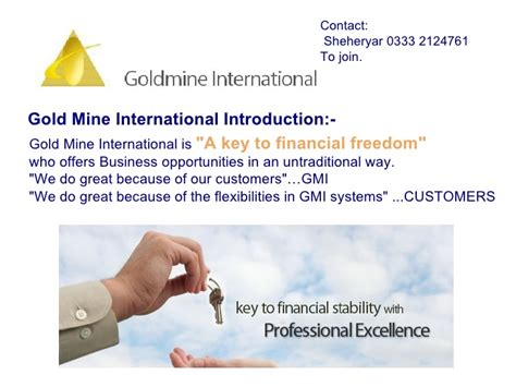 Gold Intl gold mine intl presentation