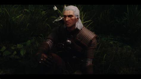 skyrim mod geralt geralt of rivia voiced follower the witcher the elder
