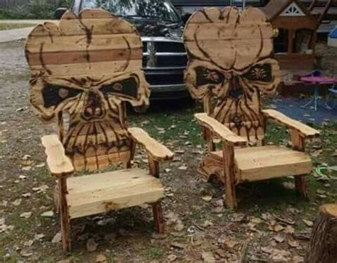 wooden skull lawn chair plans 389 best images about wood projects on