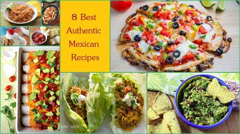 8 Best Recipes by 8 Best Authentic Mexican Recipes Favehealthyrecipes