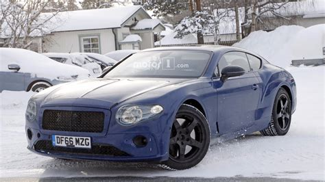 bentley old 2018 bentley continental gt spied testing with the old w12