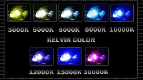 6000k color 2 hid bulbs 9006 3000k 4300k 6000k 8000k 10000k 12000k 30k