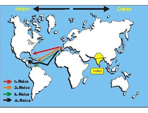 wann hat columbus amerika entdeckt die reisen des christoph kolumbus