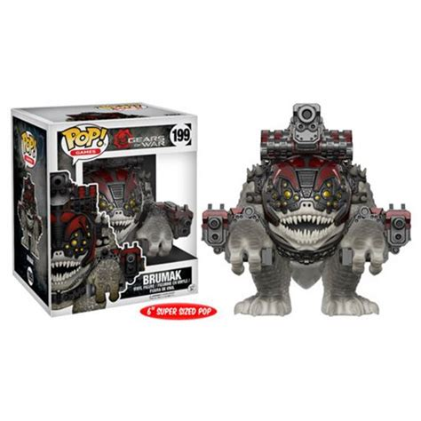 Funko Pop Overwatch Reinhardt 6inc Big Size gears of war brumak 6 inch pop vinyl figure funko