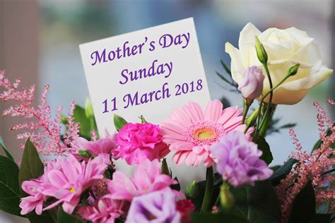 when is mothers day 2018 s day lunch 11 march 2018 ommaroo hotel