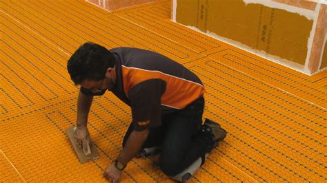 Ditra Floor System - schluter 174 ditra heat e hk floor warming schluter
