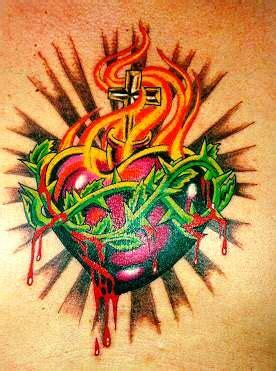 sacred heart tattoos tattoos designs sacred