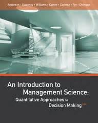 Introduction To Management 13e Schermerhorn an introduction to management science textbook solutions chegg