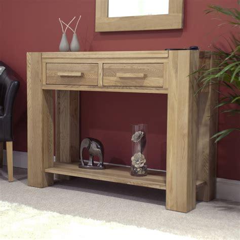 Hallway Dresser by Pemberton Solid Modern Oak Hallway Furniture Console