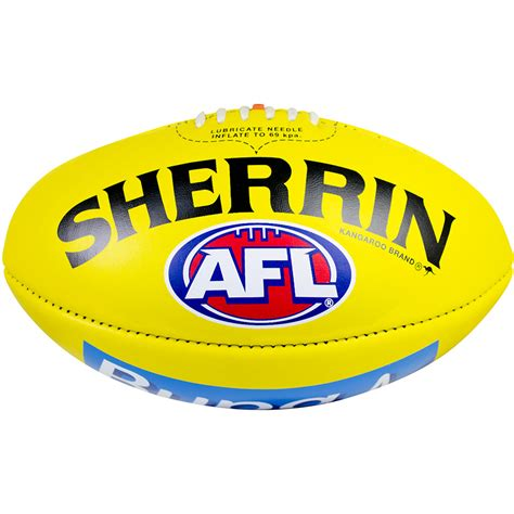 Kitchen Collectables Store hawthorn 2018 sherrin official game day football yellow