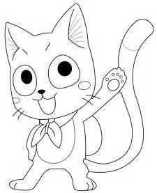 Easy Fairy Tail Happy Drawing Sketch Coloring Page sketch template