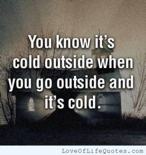 Cold Weather Quotes