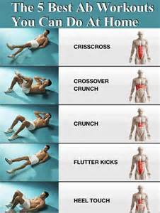 home ab workouts the 5 best ab workouts you can do at home pictures photos