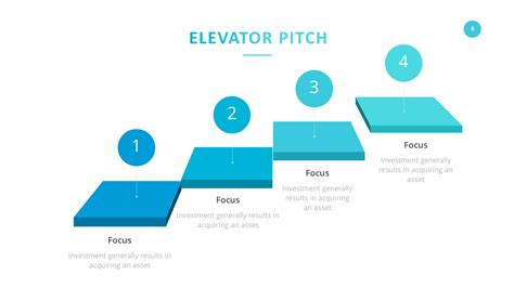 Startup Company Pitch Deck Powerpoint Template By Slidefusion Graphicriver Elevator Pitch Presentation Template