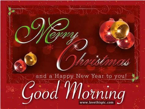 merry christmas  happy  year good morning pictures   images  facebook