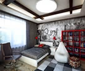 Boys Bedroom Decor Ideas habitaciones juveniles con paredes decoradas dormitorios