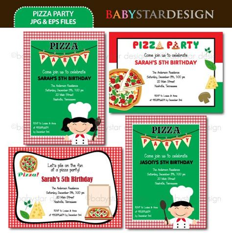Pizza Birthday Card Template by 7 Best Images About Pizza On Birthday