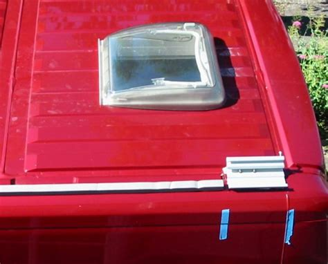 fiamma f65s awning deep red a self build motorhome accessories