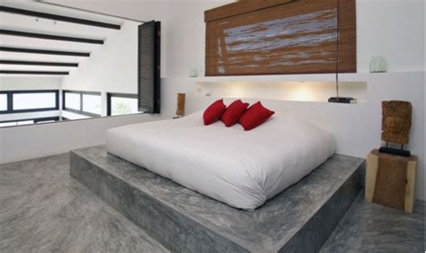 concrete bed dadka modern home decor and space saving furniture for