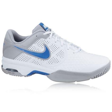nike air court ballistec 4 1 mens white tennis court shoes