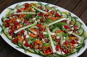 a salad for christmas eve dinner flickr photo sharing