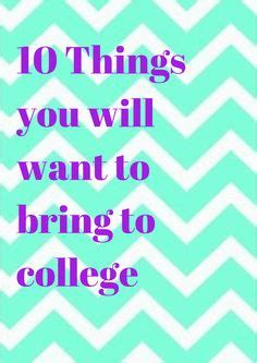 7 Things To Bring Cing by 1000 Images About College Move On Colleges