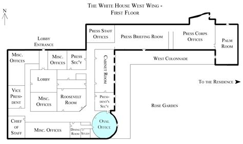 layout white house file white house west wing 1st floor with the oval