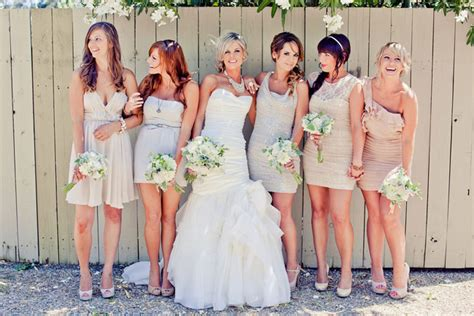 Matching bridesmaids and flower girl dresses online