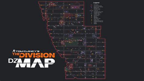 div location the division the most detailed zone map all loot