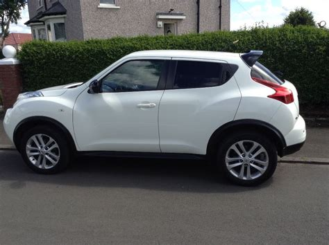 nissan juke white white nissan juke acenta sport 2012 in east end glasgow