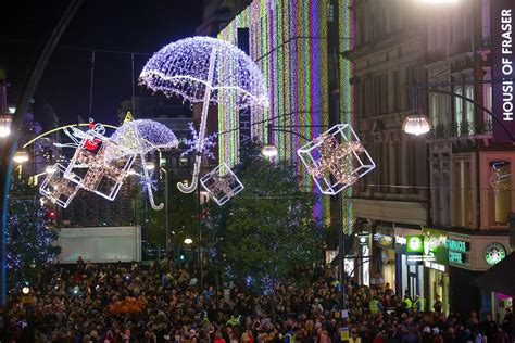 oxford street christmas lights switch on jonathan glanz