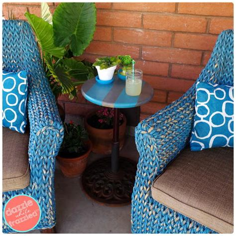 patio umbrella side table patio side table from umbrella stand diyideacenter com