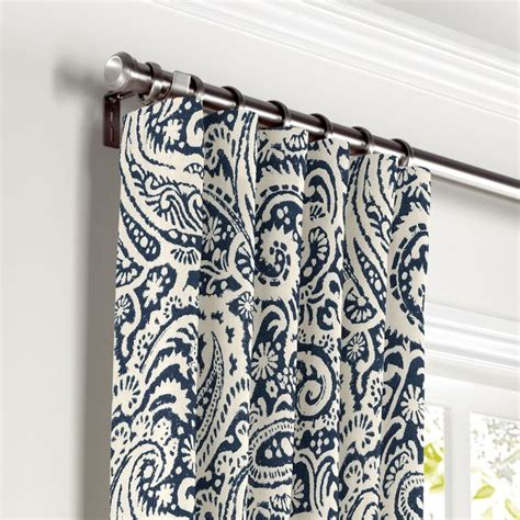 Paisley Curtains Blue Best 25 Paisley Curtains Ideas That You Will Like On Pinterest Teal Bedroom Curtains