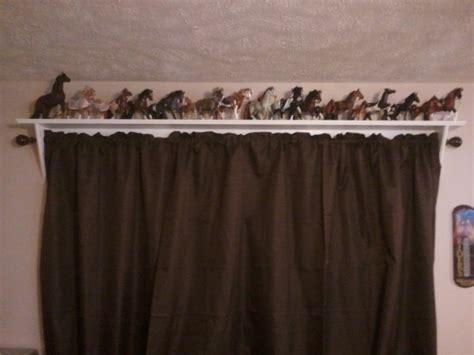 curtain rod shelf curtain rod shelves jays custom creations