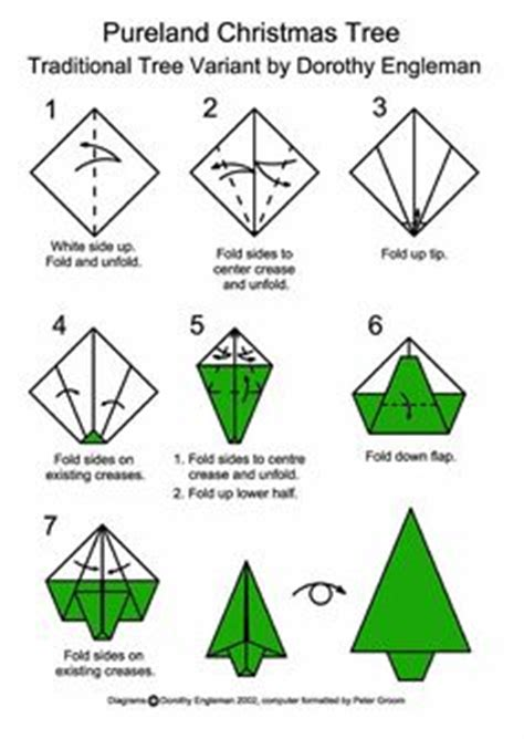 printable christmas tree origami 1000 images about projects to try on pinterest diy
