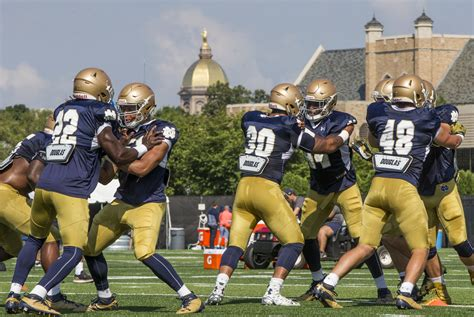 Notre Dame Mba Chicago Ranking notre dame ranked 10th in preseason ap poll alabama is no