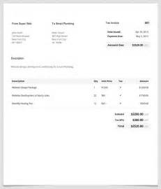 Create A Invoice Template by Free Invoice Template Make A Professional Invoice In Minutes