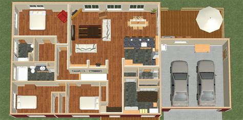 contemporary energy efficient sle house by andrea tiny home floor plan house plan 2017