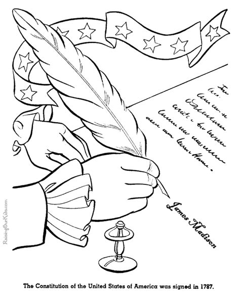 coloring pages for us history united states constitution history pages 024