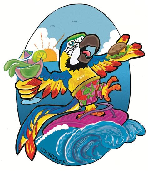margaritaville clipart 17 best images about parrot on tropical