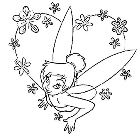 Free Printable Tinkerbell Coloring Pages For Kids Coloring Pages Print