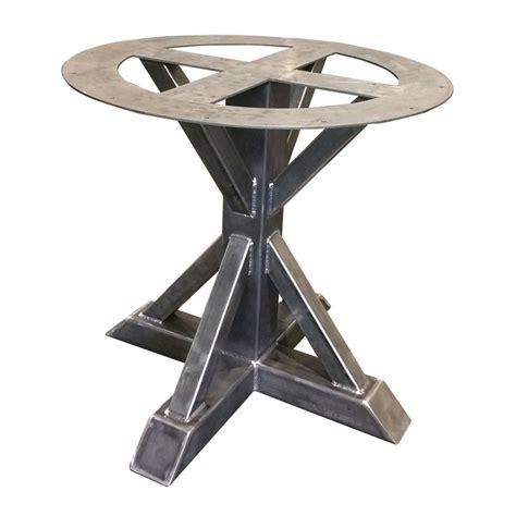 Metal Pedestal Table by Metal Pedestal Trestle Table Legs Table Single Leg