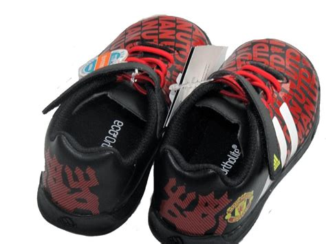 manchester united football shoes adidas boys manchester united fc black football