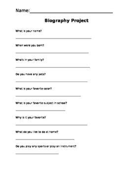 unit 7 biography and autobiography biography questions benchmark literacy unit 1 main idea