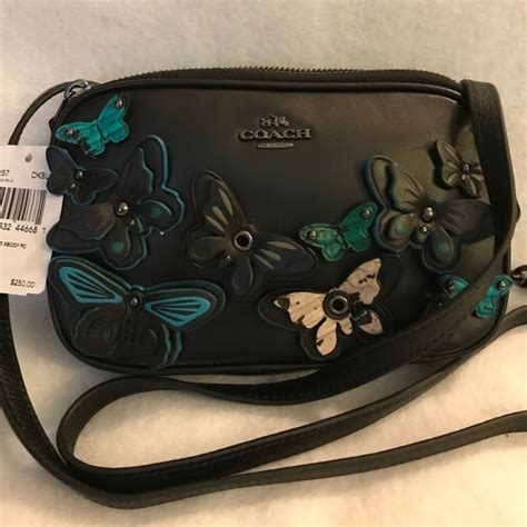 Coach Mini F59810 Black Butterfly 36 coach handbags coach butterfly mini cross purse from cathy s closet on poshmark