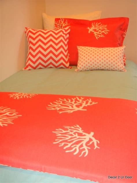 coral bedding 17 best ideas about coral bedspread on pinterest coral bedroom coral walls bedroom